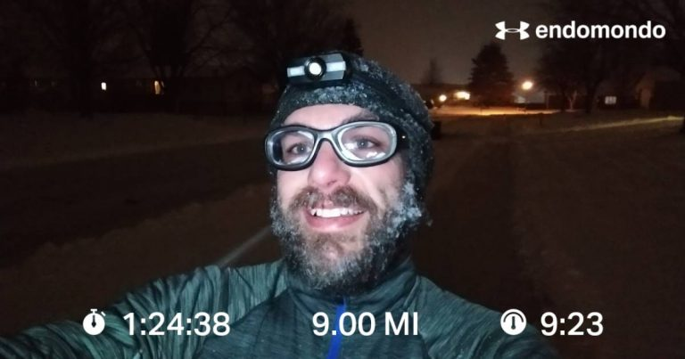 When A Winter Interval Run Kicks Your Butt