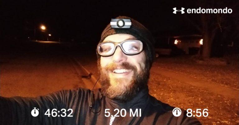 Wee Early Morning Run