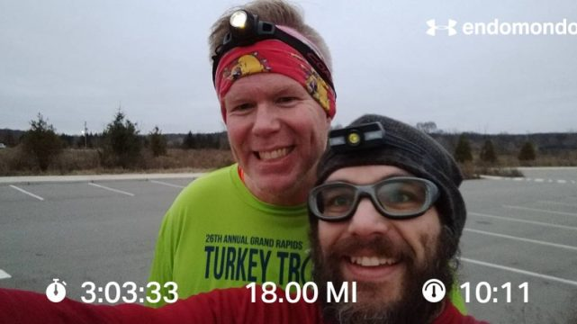 Saturday Morning Groundhog Day Marathon Course Training Run