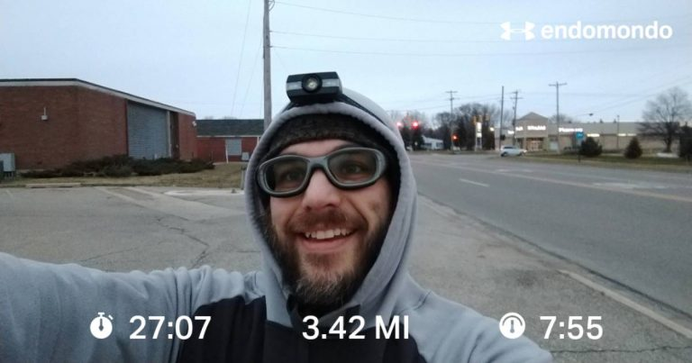 5K+ Christmas Morning Training Run