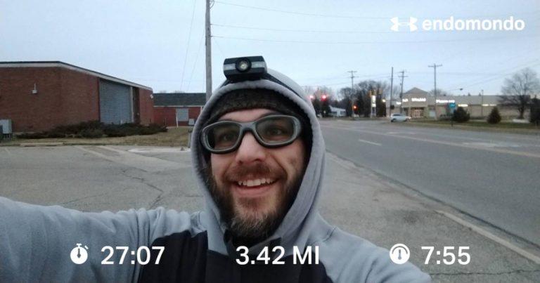 5K+ Christmas Morning Training Run