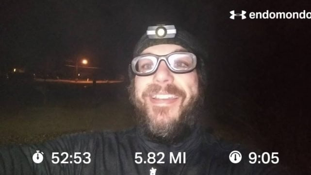 Kicking Off The Week With A Nice Run