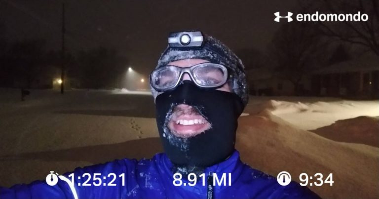 Running Headstrong Into The Polar Vortex