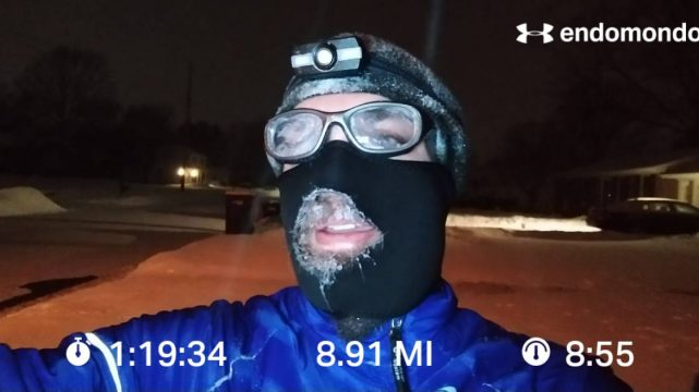 How Do You Stay Warm In Sub-Zero Temps? Run.
