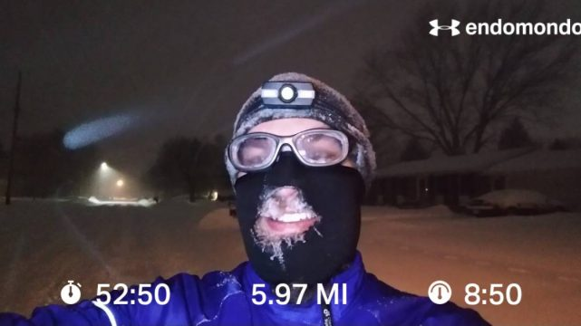 A Little Winter Storm Speed Work