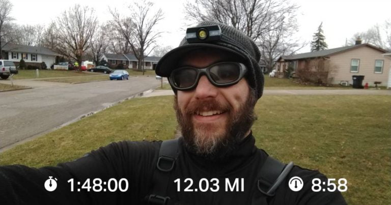 Enjoying Sunlight And Worship Music On My Saturday Long Run