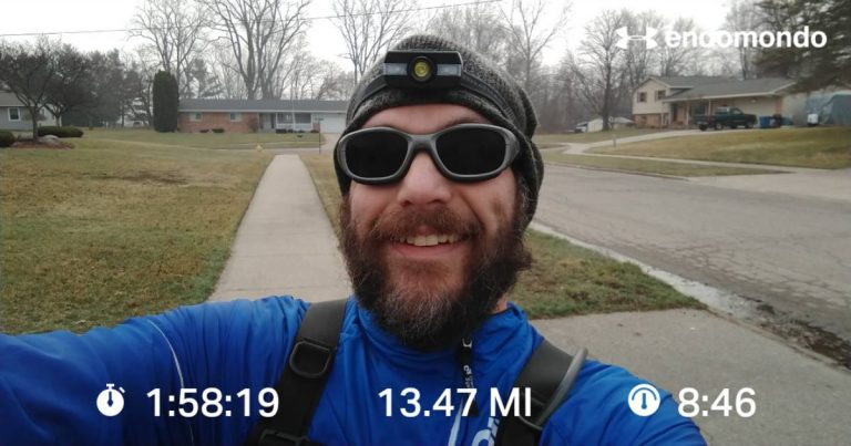 PR On A Half Marathon Training Run