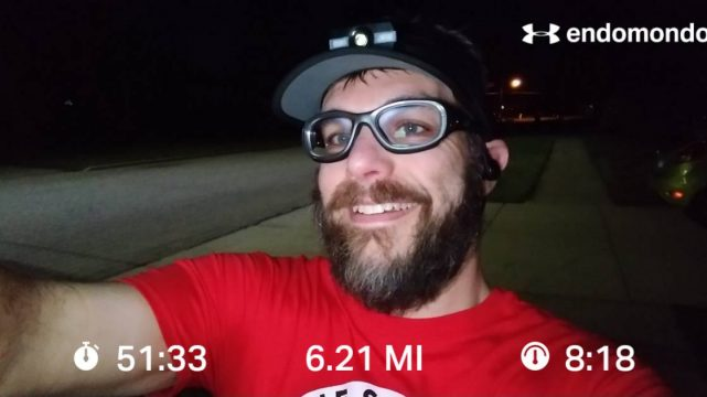 Monday Morning Recovery Run