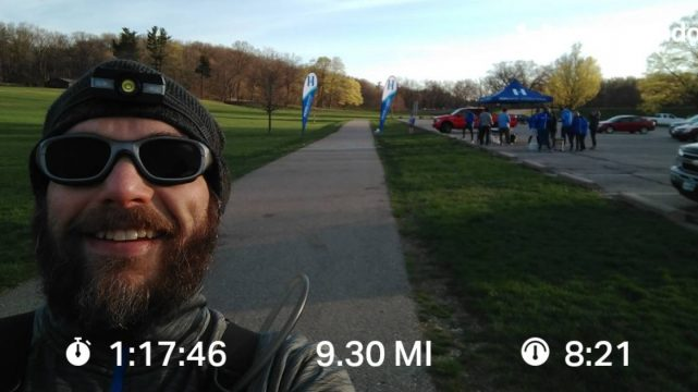 Knocking Out The Miles Before The Hope Water Team Gathering