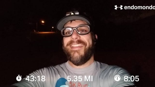 Nearing The End Of The 25K Training