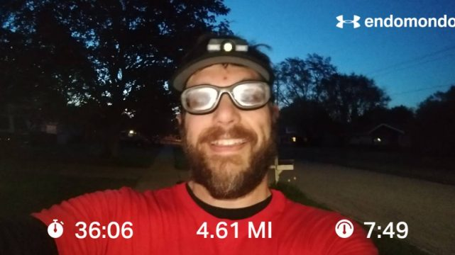 Reverse Training Run For A 25K Recovery