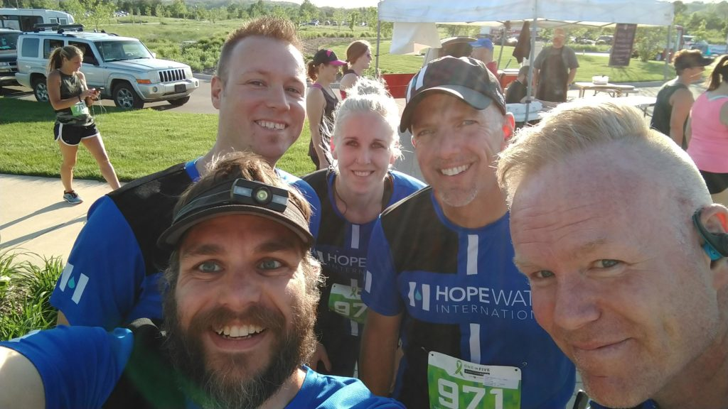 Hope Network 1-in-5 Marathon HWI Relay Team