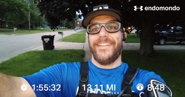 A Little Early Morning Half Marathon