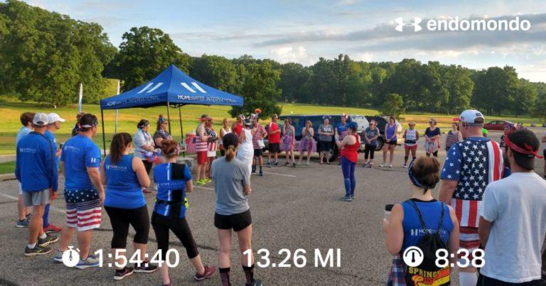 Just A Little Half Marathon Before Group Run