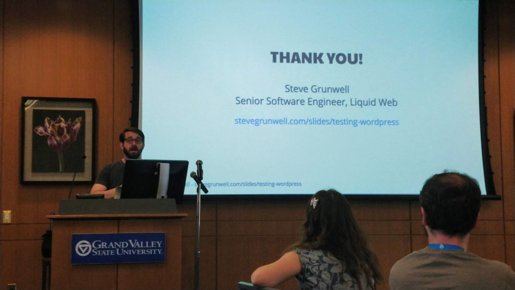 Steve Grunwell - Testing WordPress