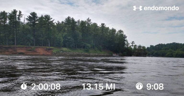 Ran A Half Marathon In The Dells…A Training Run