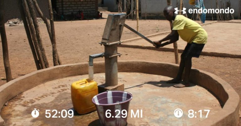 The More Miles Ran, The More Donations Received, The More Wells In Africa