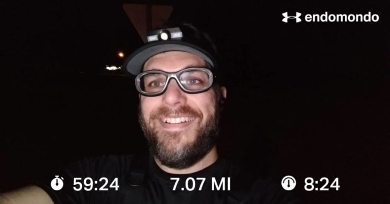 The Return Of The Running Selfie