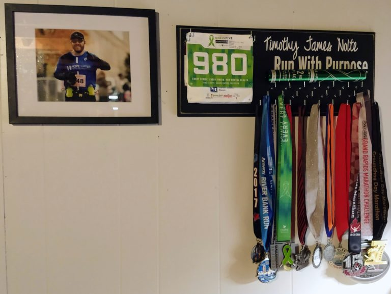 My Running Awards Are Finally On Display, Gift From Father's Day