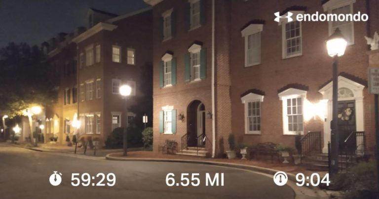 Tackling 6 Miles On My Last Day In Virginia