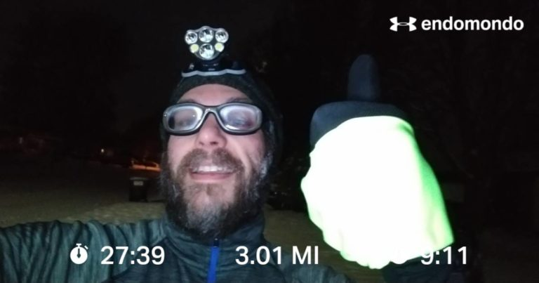Short Easy Wintery Run