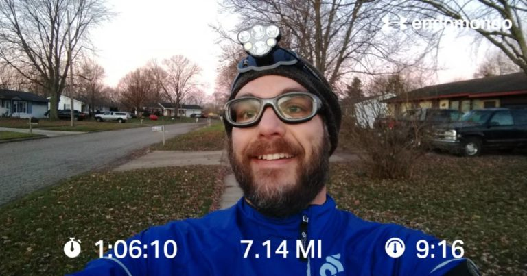 A Tough Interval Run On Turkey Day