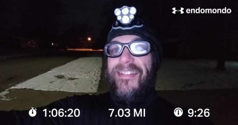 Tackling A Winter Interval Run
