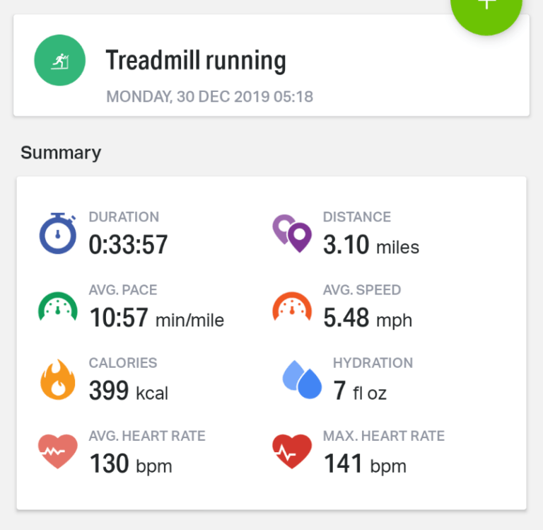 Slowing Down To Speed Up, Monday Run On The Dreadmill