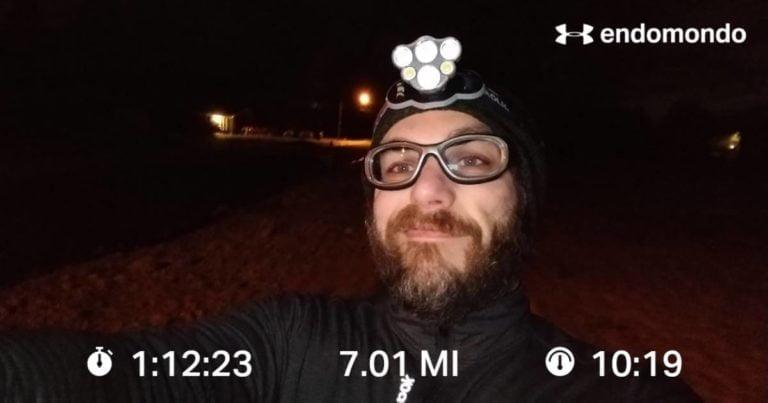 A Tough Thursday Interval Run