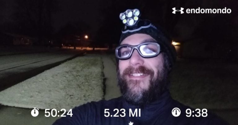 Monday Recovery Run With Increasing Miles