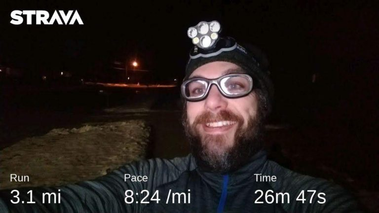 Final Training Run Before The Groundhog Marathon