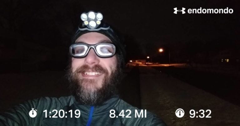 Putting In Some Miles On A Crisp Tuesday Morning