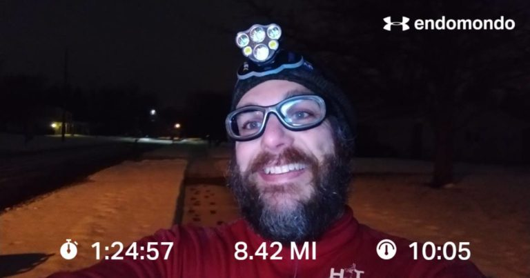 Sloshing Through A Wet Tuesday Long Run