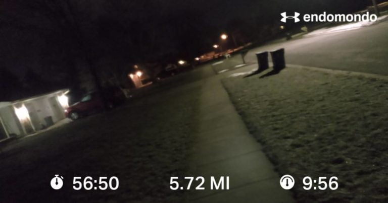 Working On A Slow Easy Recovery Run