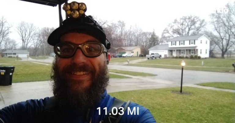 A Wet Easy 11 Miles