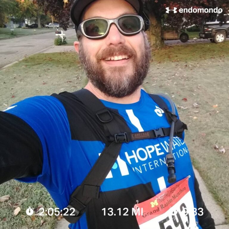Completing My 2020 Virtual Grand Rapids Half Marathon