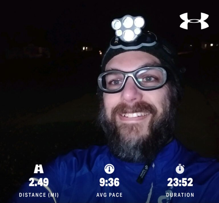 "Another ""Easy"" Run With The New App And Training Plan"