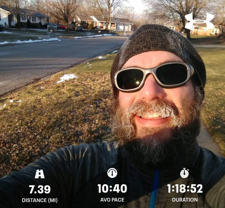 Getting The Frosty Saturday Morning Long Run Done