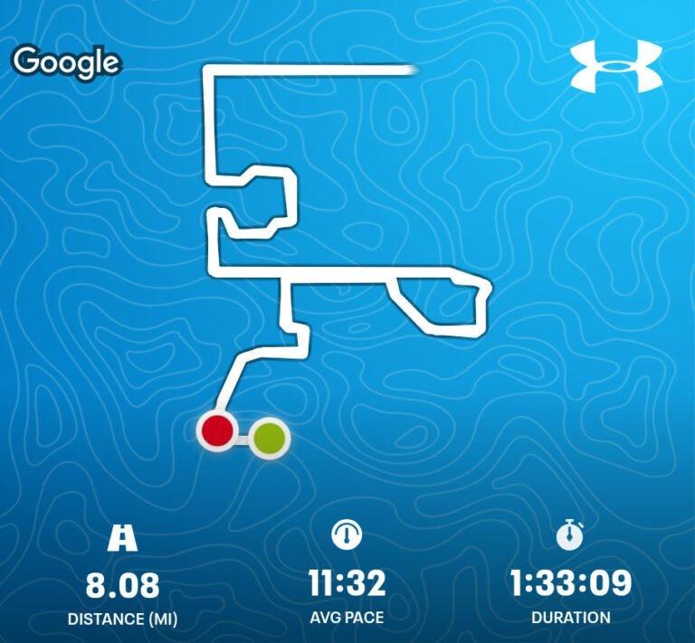 When 8 Miles Feels Like A Marathon