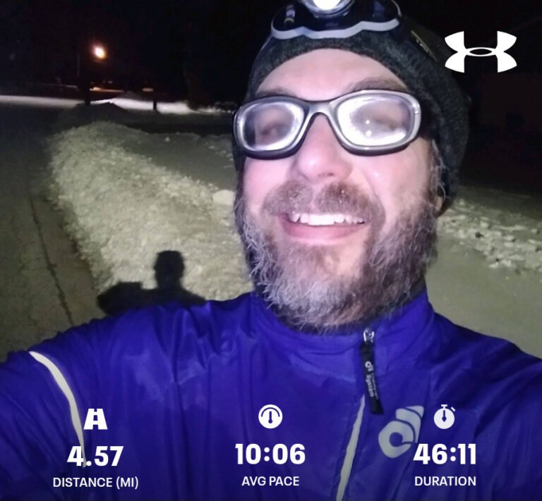 Nothing Like Cold Winter Weather to Motivate Your Interval Run