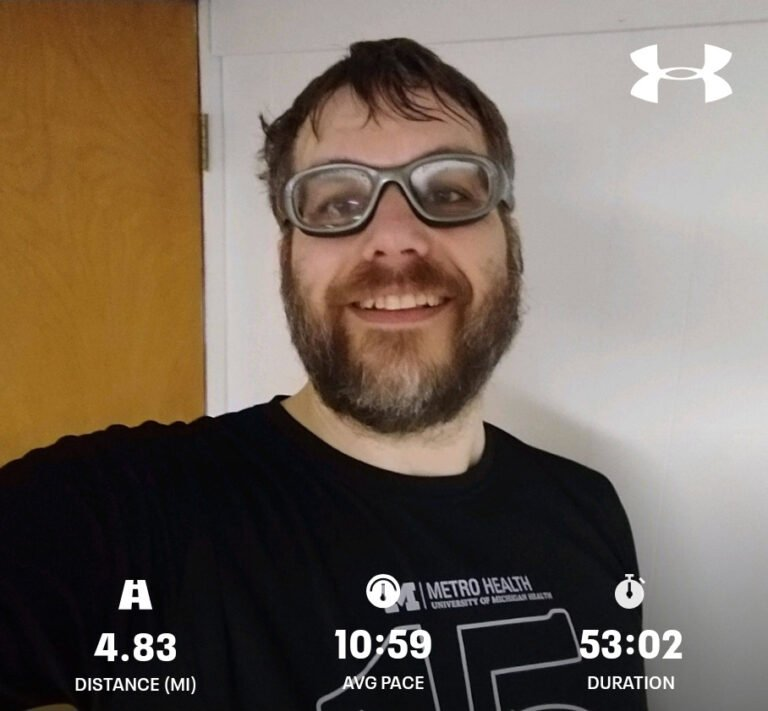 Finished Another 4.83mi Interval Training, Run Today