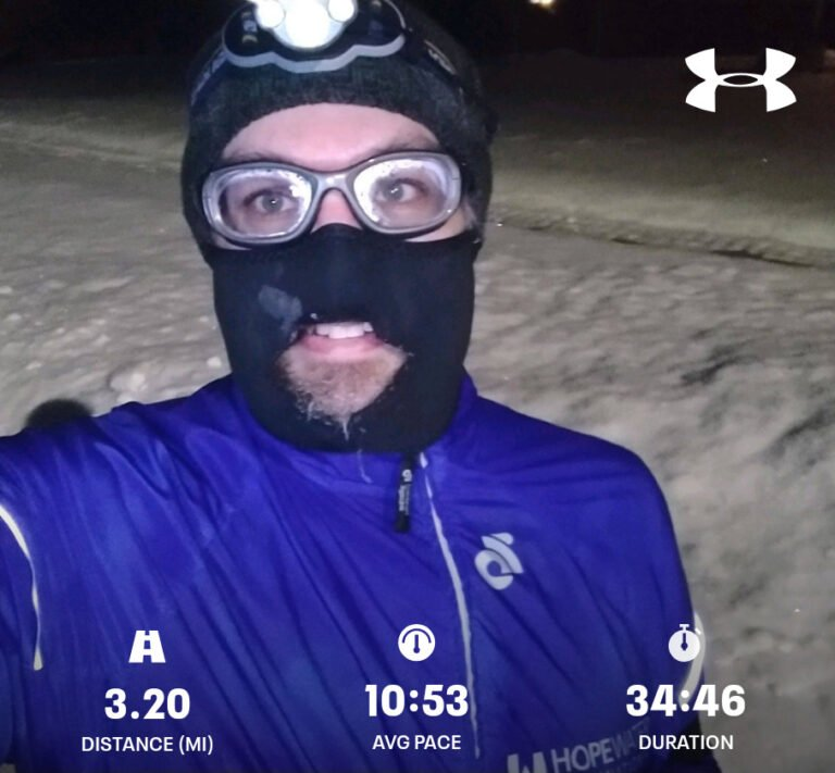 Finished Another 3.20mi Run Today