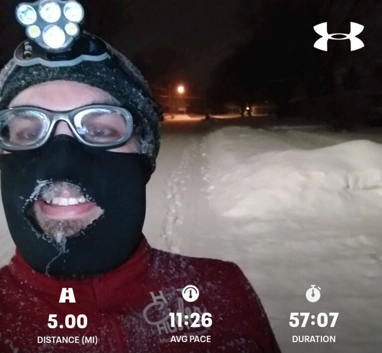 Finished Another 5.00mi Run Today