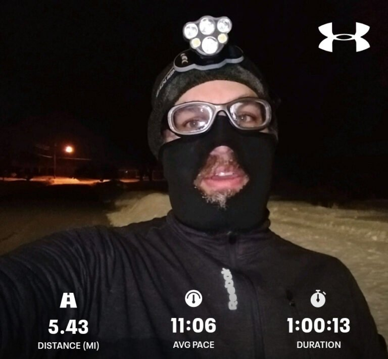 Finished Another 5.43mi Run Today