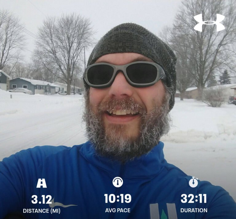 Finished Another 3.12mi Tempo Run Today