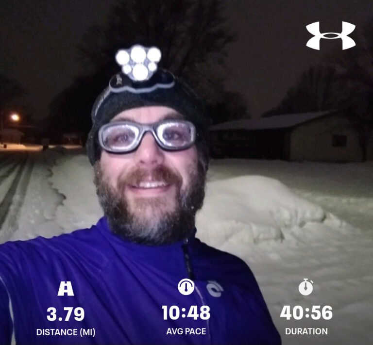 Finished Another 3.79mi Run Today