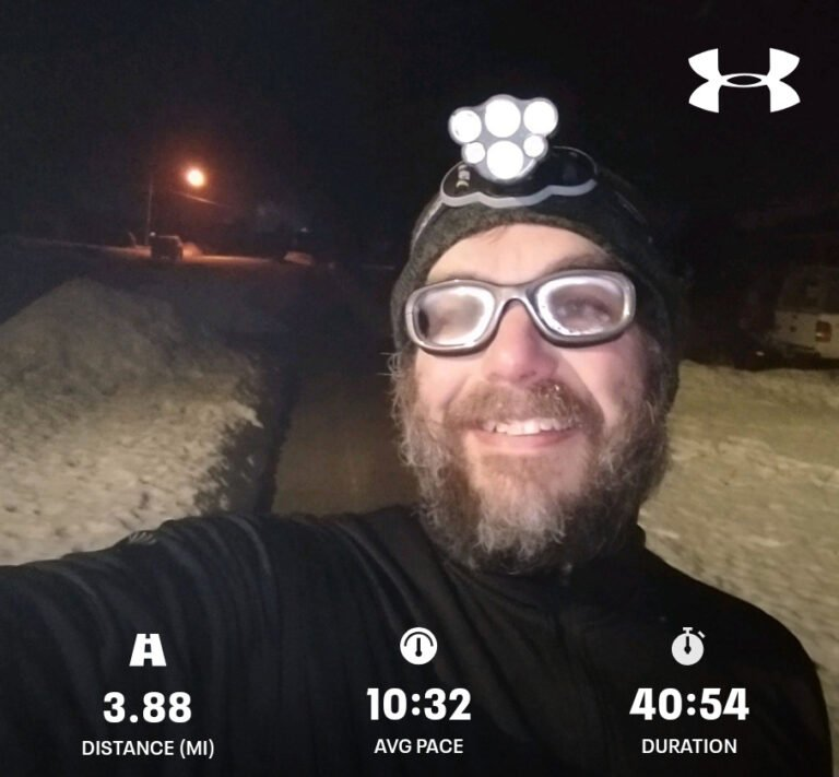 Finished Another 3.88mi Run Today