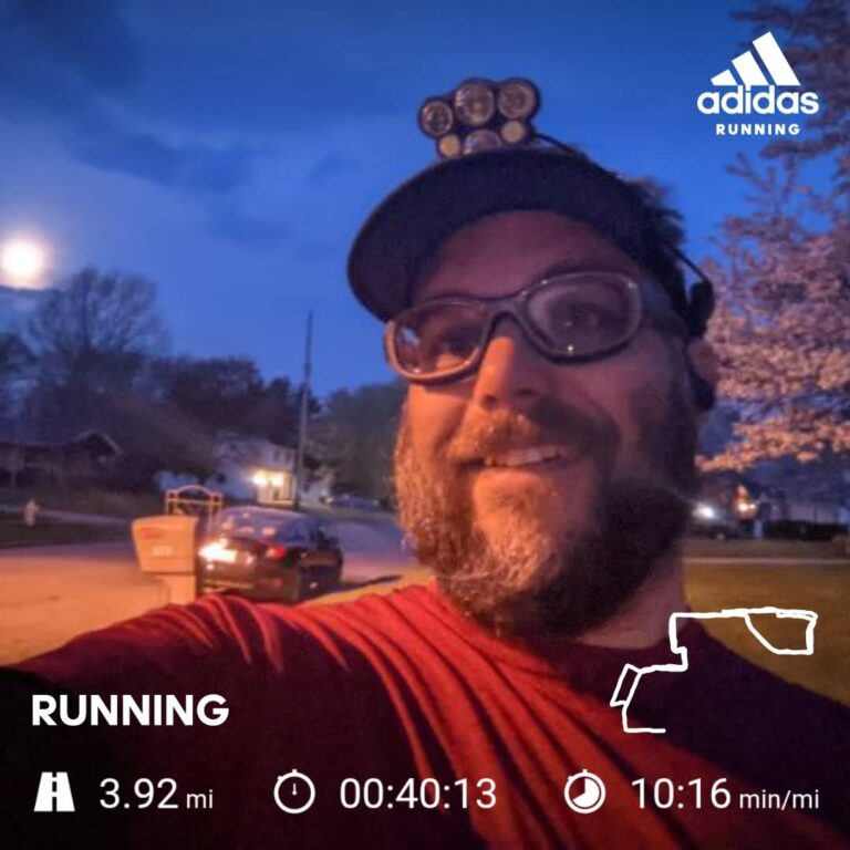 Starting Off The Week With Another 5K Training Run