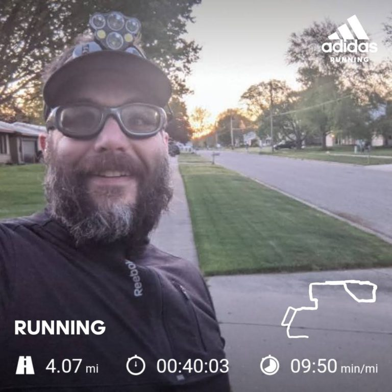 Starting Off Another Week With A 4 Mile Run, And Feeling Good