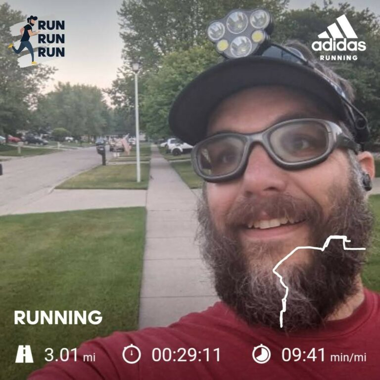 Knocking Out Another Thursday 3 Mile Training Run For Clean Water